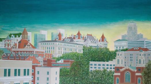 Cityscapes by David Hinchen
