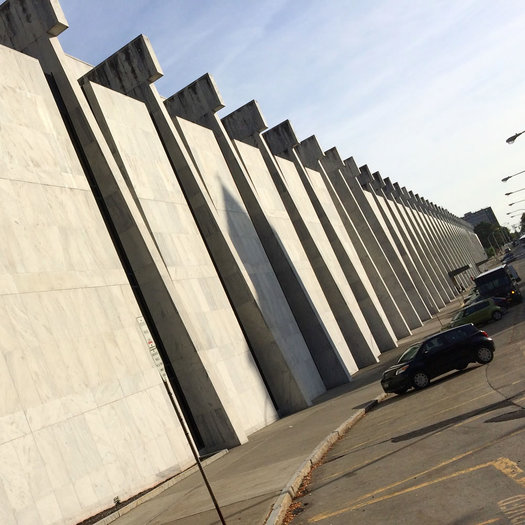 Empire State Plaza fortress wall 2017-09-19