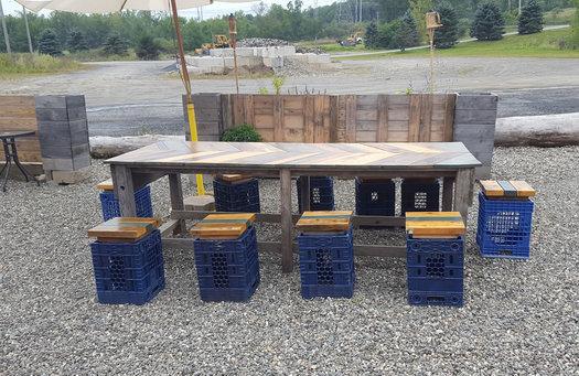 Wren & Rail exterior seating 2017