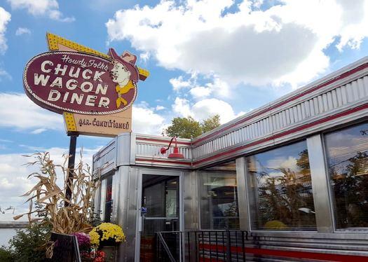 Chuck Wagon Diner Duanesburg exterior 2017-October