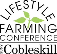 SUNY Cobleskill Lifestyle Farming Conference logo 2017 autumn