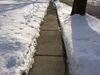fully shoveled sidewalk 2