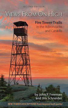 Views From On High 2nd edition cover fire tower guide