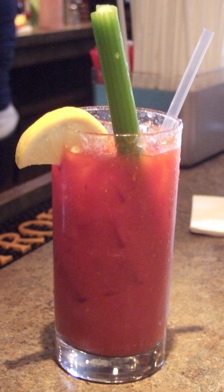 Bloody Mary at Cafe Madison