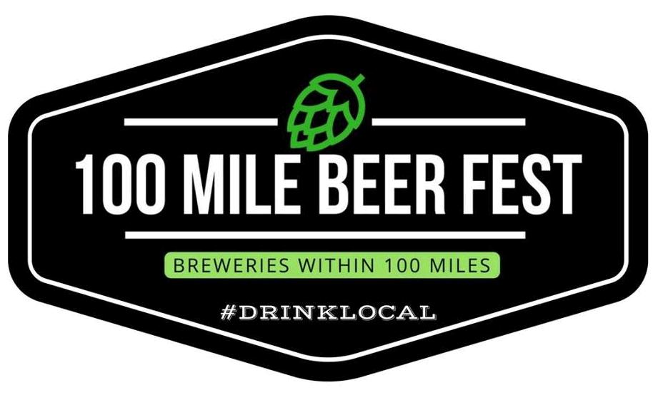 100 Mile Beer Fest logo