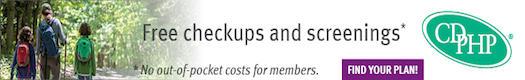 CDPHP ad free checkups