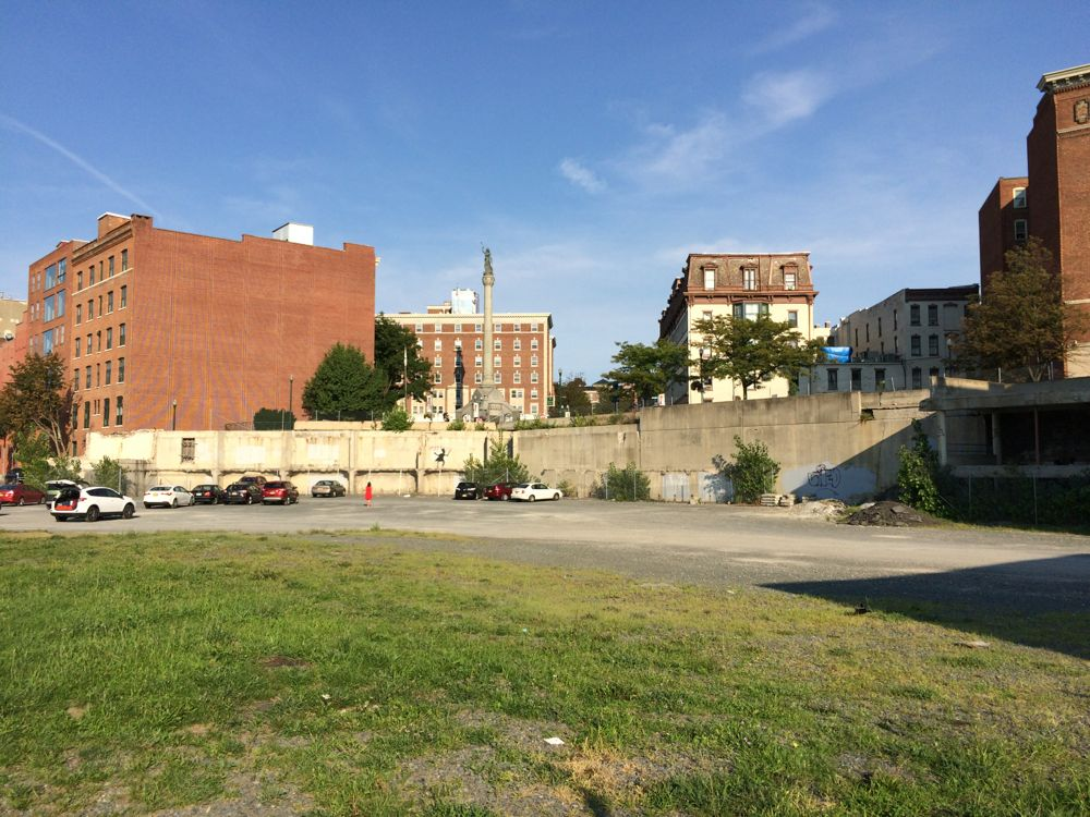 1 Monument Square site 2016-08-25