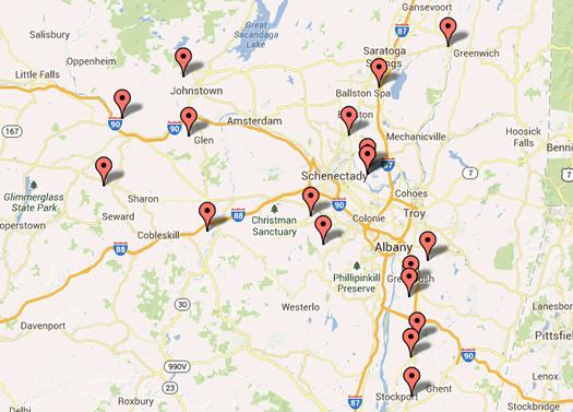 2013 october map quiz