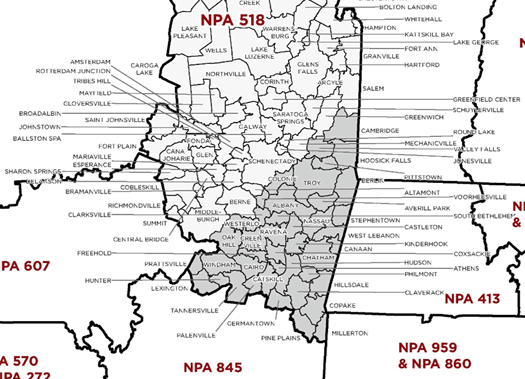 Whats The Future Of The All Over Albany - 570 area code