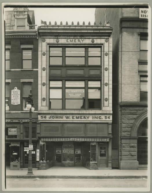 54 N Pearl Albany John W Emery building 1927