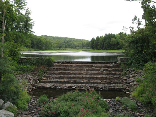 huyck lincoln pond dam