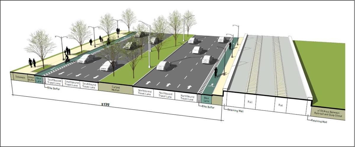 787 corridor draft report boulevard rendering