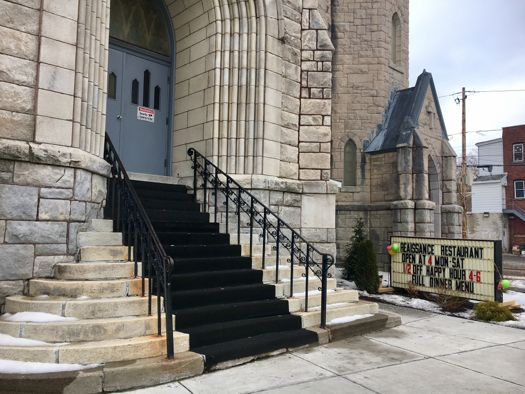 828 Eastern Ave Schenectady old St Mary's church 2017-Feb