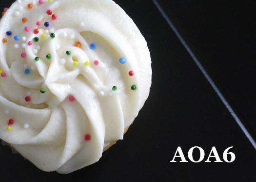 AOA6 cupcake