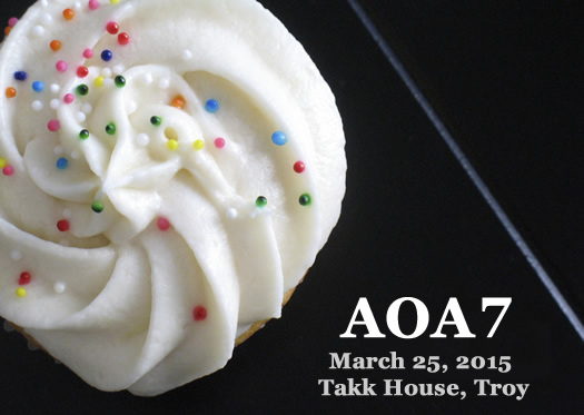 AOA7 cupcake card