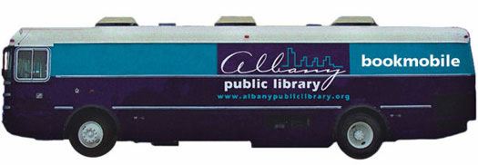 Albany Public Library bookmobile