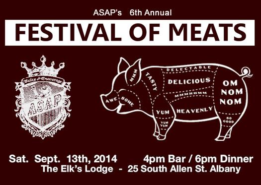 ASAP Festival of Meats 2014 logo