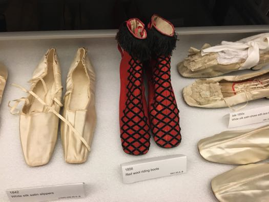 Albany Institute Closet red shoes 1856.jpg