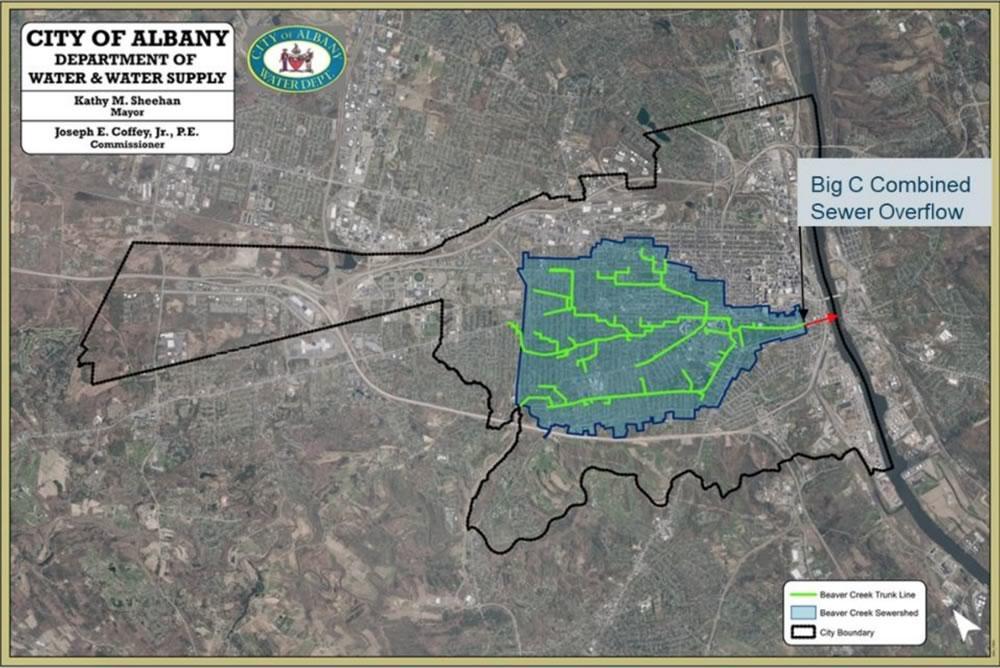 Albany Beaver Creek sewer lines