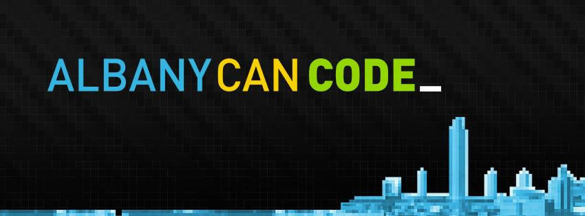 Albany Can Code logo