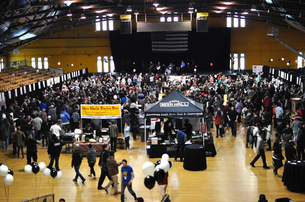Albany Craft Beer Festival 2017 crowd