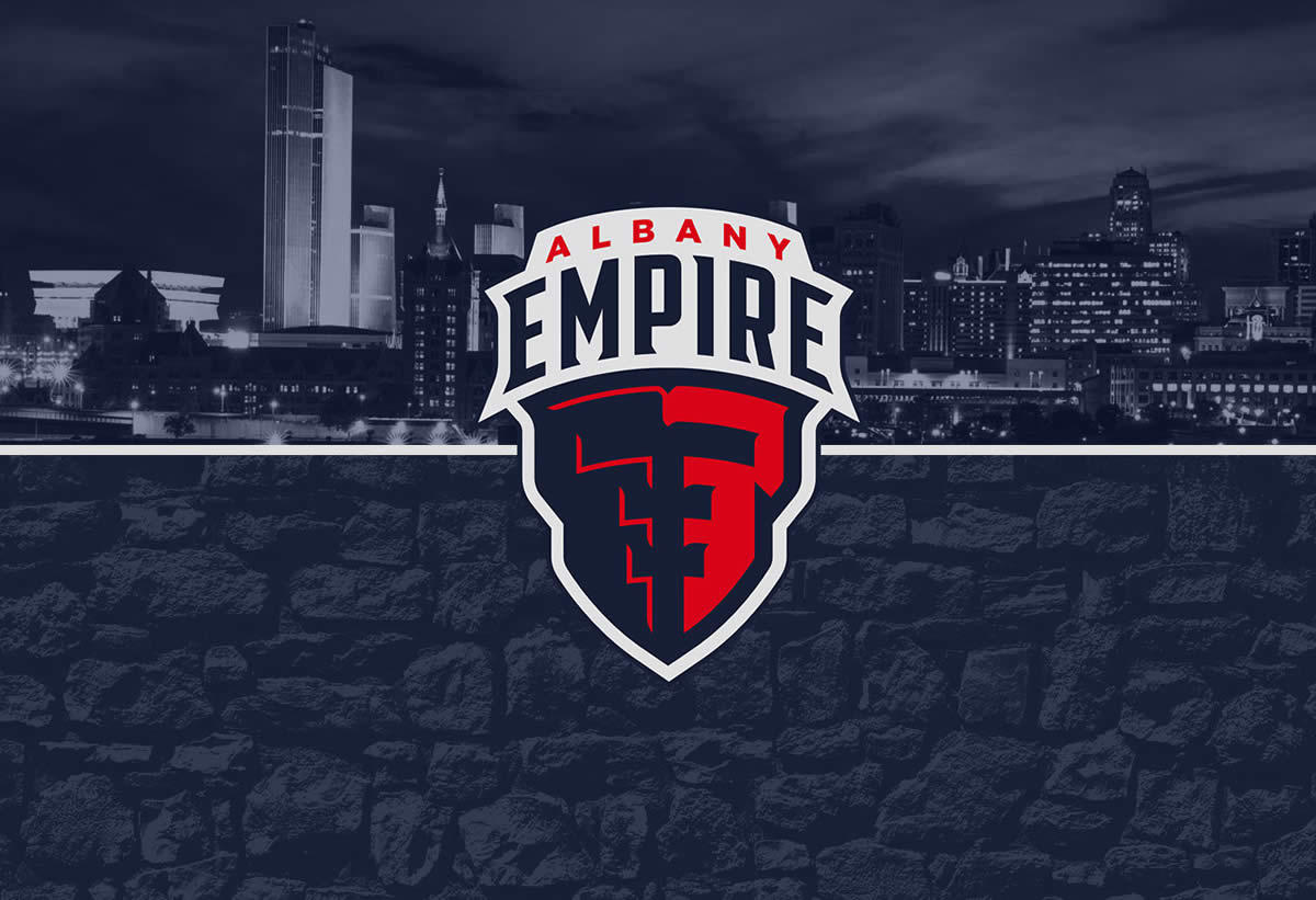 Albany Empire logo background image