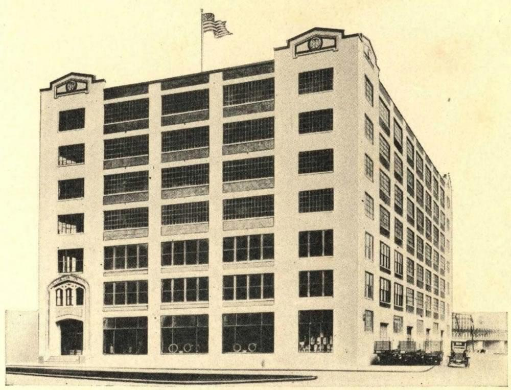 Albany Hardware and Iron building 1927