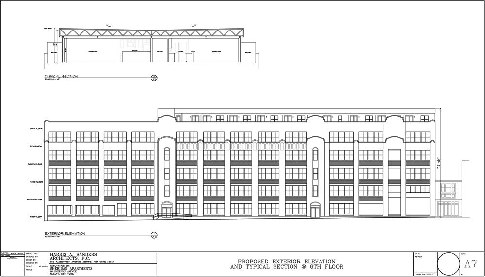 Albany Planning Board 2018-August 16 Sheridan elevation