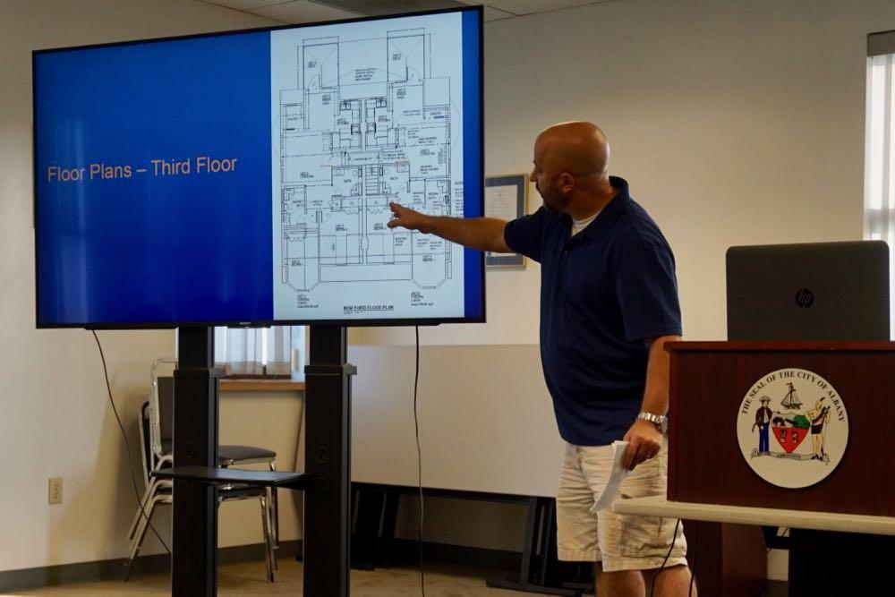 Albany Planning Board 2018-August 80 N Allen public comment Dan Martinelli