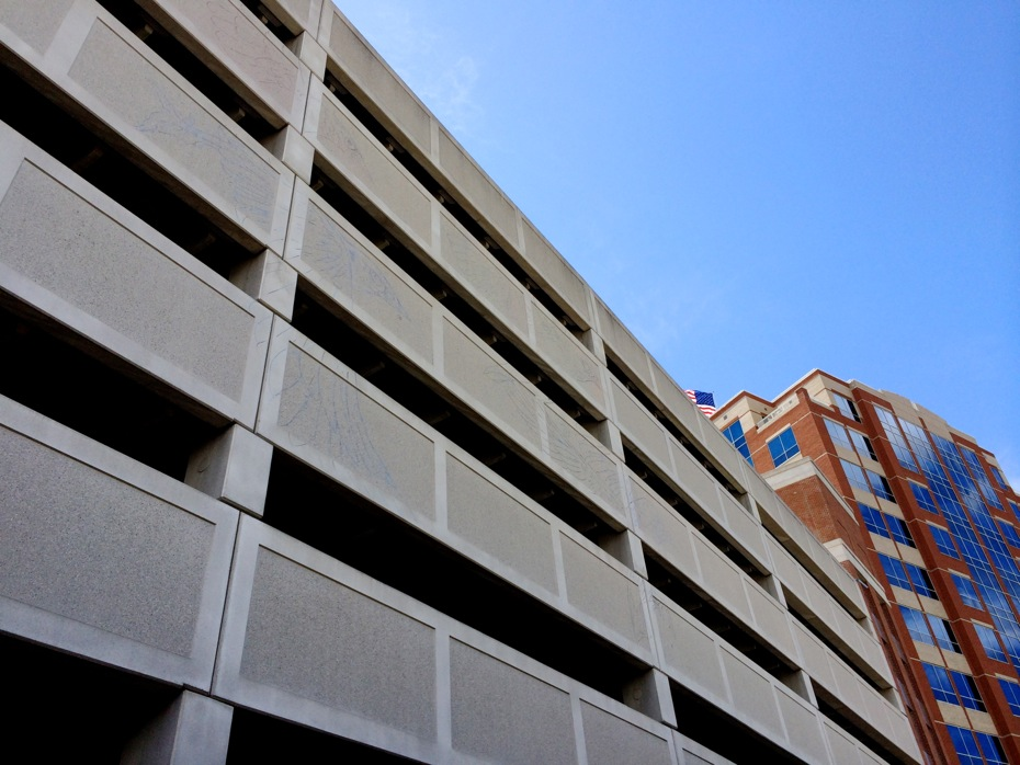 The Parking Garage As Canvas All Over Albany
