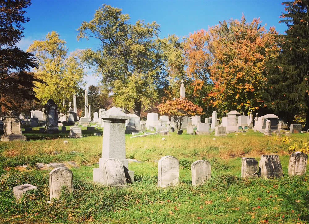 Albany Rural Cemetery Society of Friends plot credit Paula Lemire
