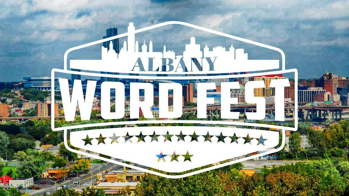 Albany Word Fest 2018 logo
