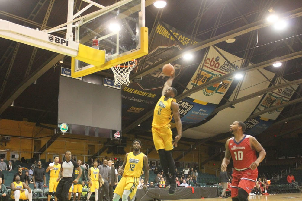 Albany Patroons dunk photo by Relentless Awareness