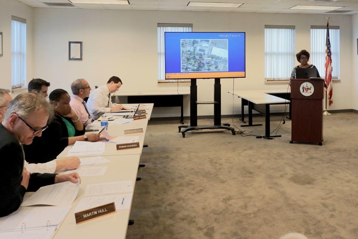 Albany planning board 2018-05-17 Carolyn McLaughlin