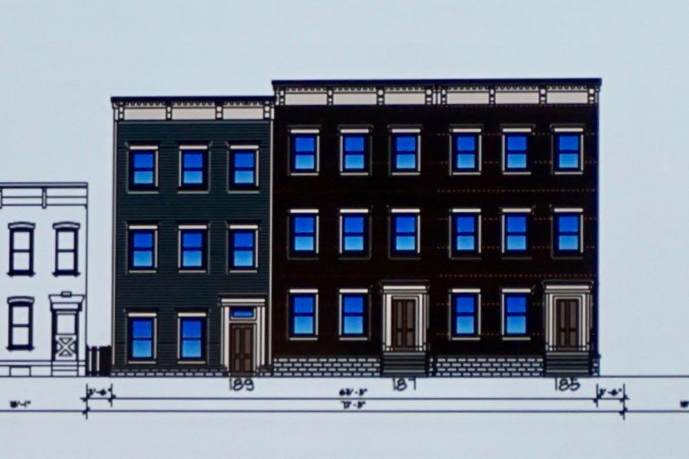 Albany planning board 2018-12-20 Elm Street closeup