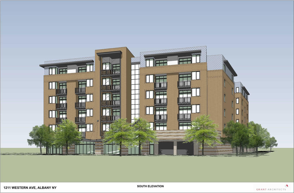 Albany planning board 2018-October 1211 Western Ave rendering front