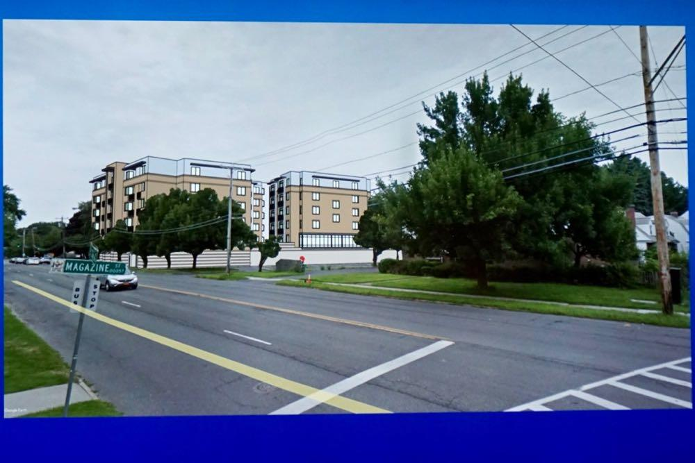 Albany planning board 2018-October 1211 Western Ave rendering on real photo