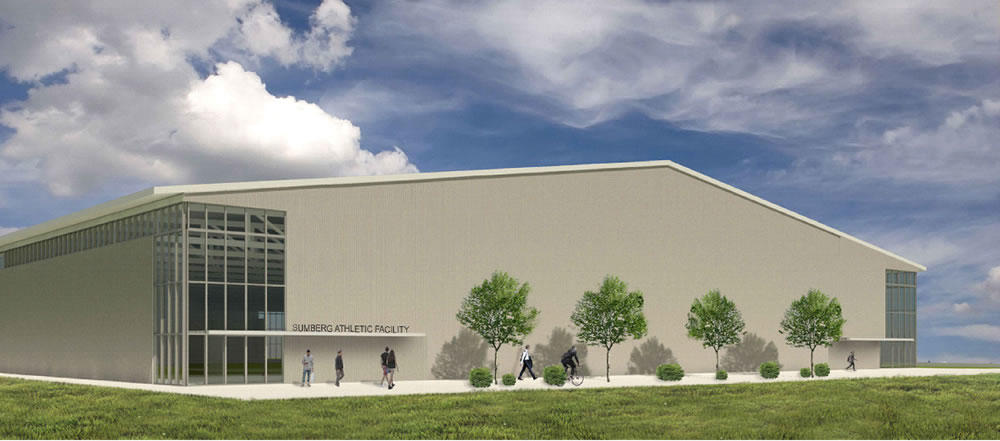 Albany planning board 2018-October Albany Academy gym rendering