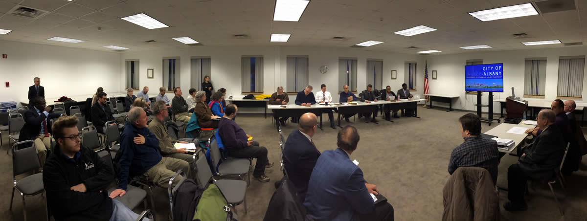 Albany planning board meeting 2018-02-08 Playdium redev