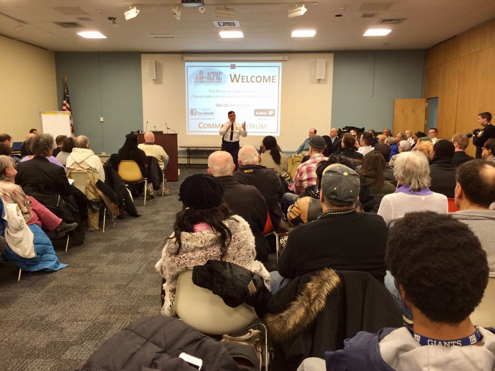Albany police body camera forum 2016-02-23