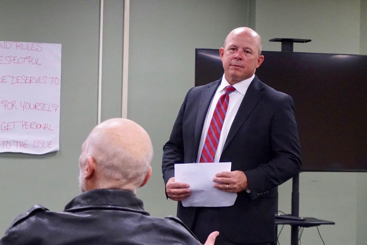 Albany police chief search forum 2018-04-16 Gary Peterson