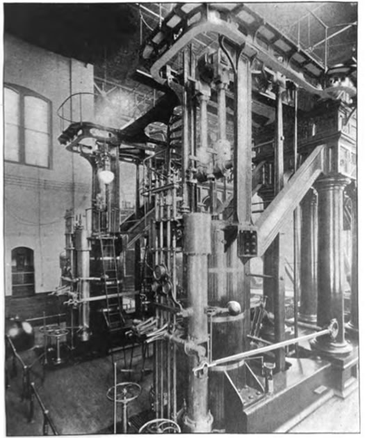 Albany pump station pump c1898