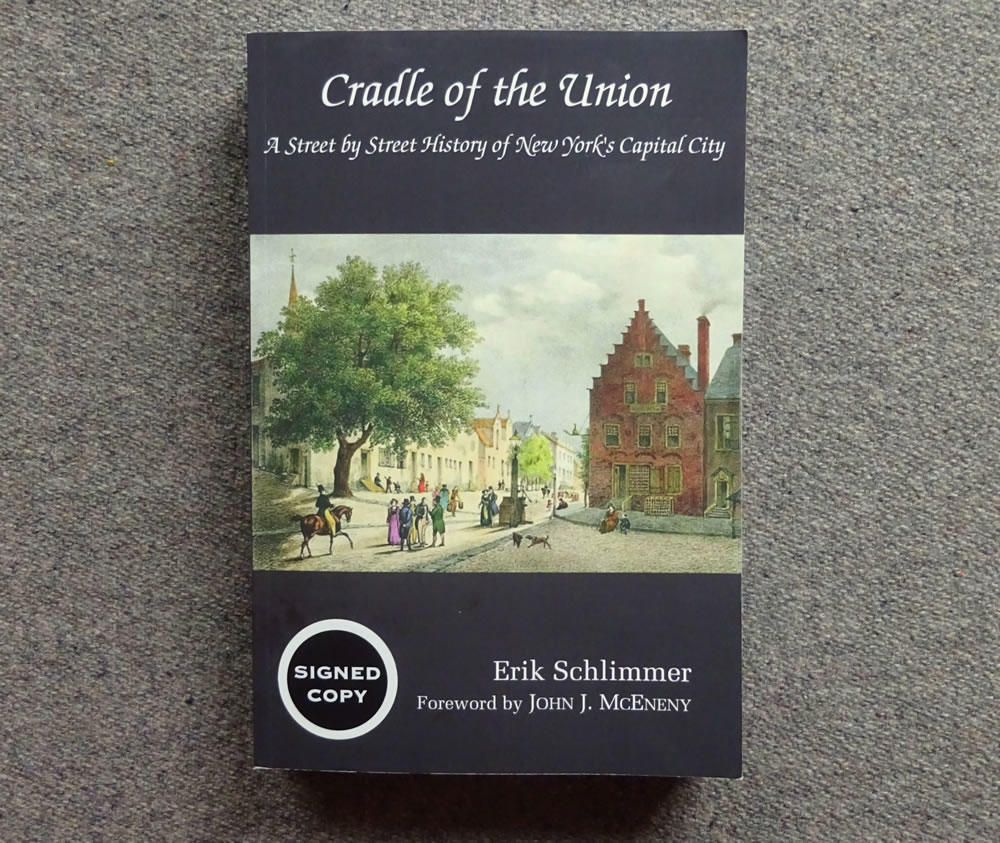 Albany street name book cover Cradle of the Union Erik Schlimmer