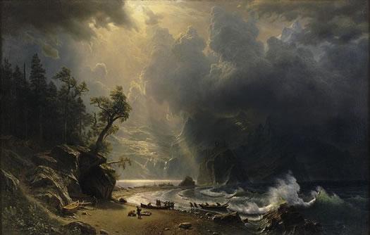 Albert Bierstadt Puget Sound
