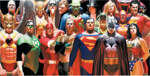 Alex Ross Justice League NRM