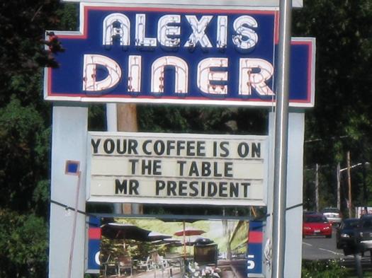Alexis diner sign.JPG