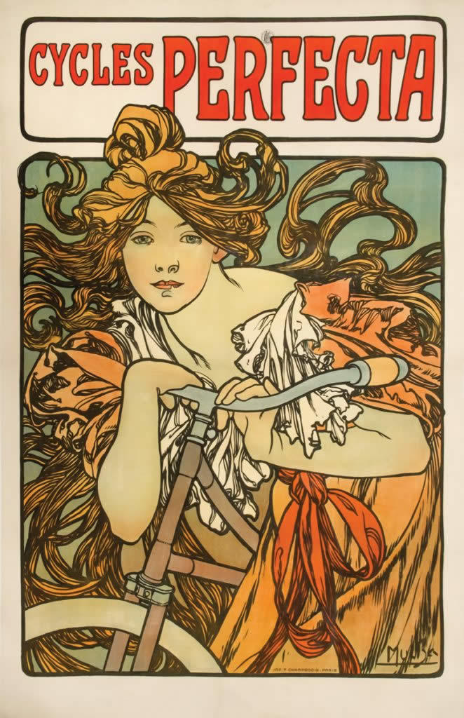 Alphonse Mucha Cycles Perfecta
