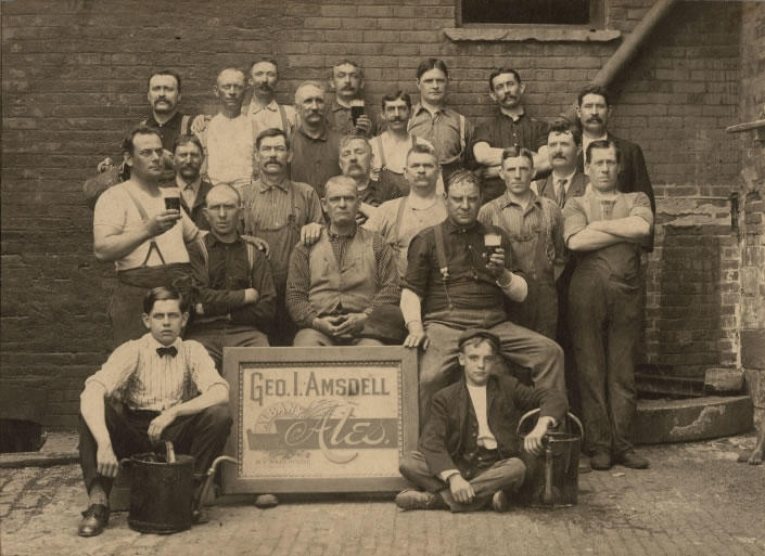 Amsdell Brewery workers Albany 1910