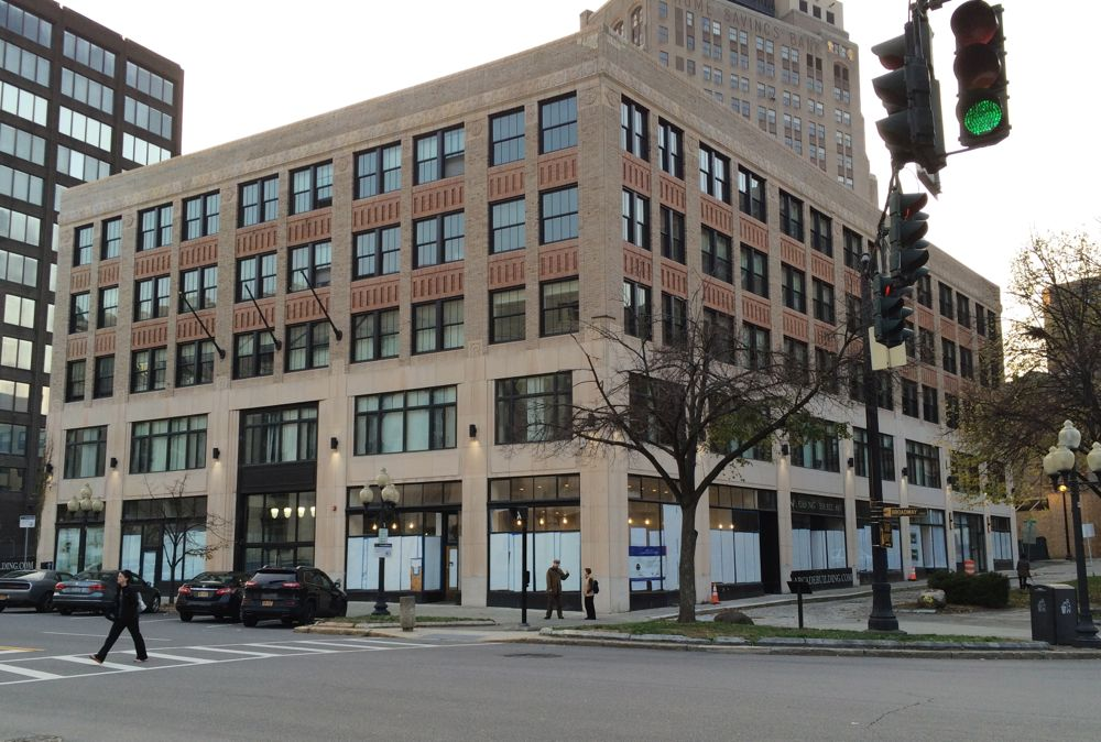 Arcade Building downtown Albany exterior 2016-11-02