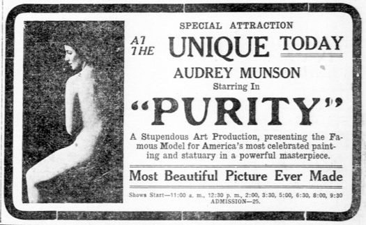 Audrey Munson Purity1916-newspaperad.jpg